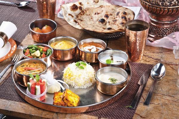 Veg Thali At Ashirwad Hotel
