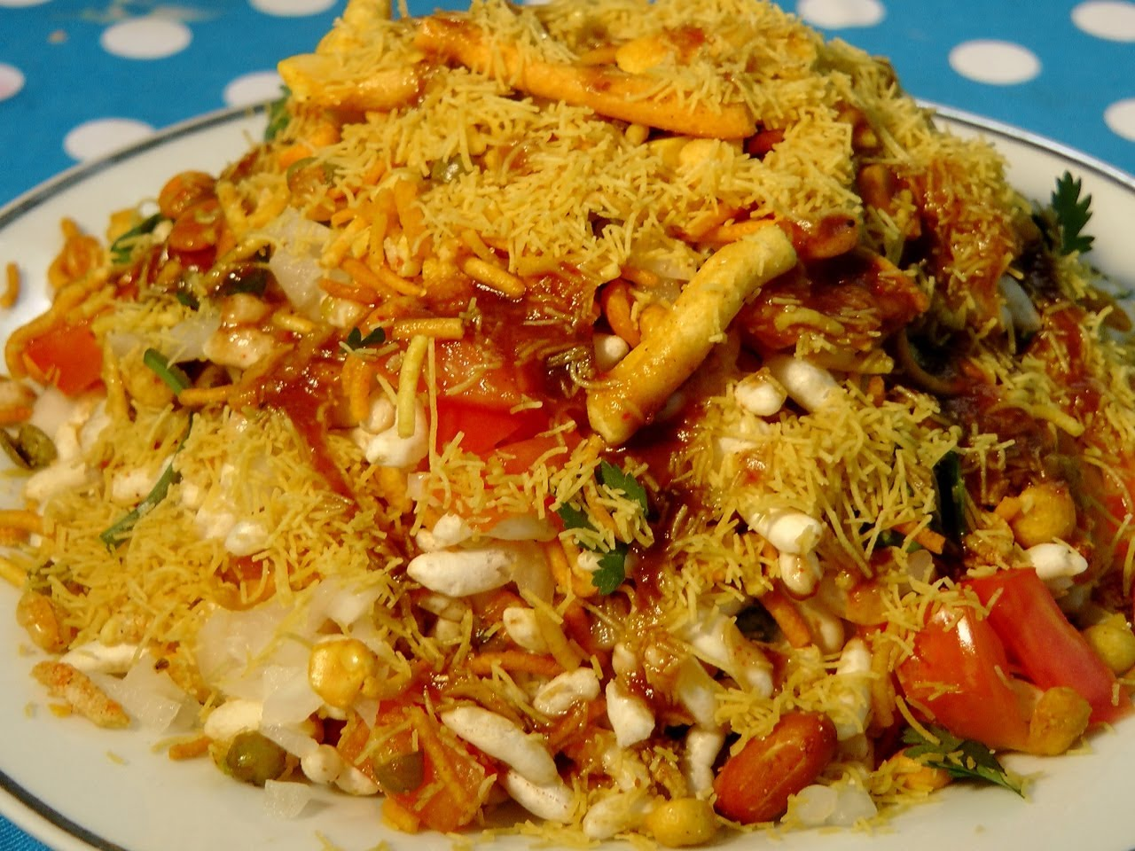 Tasty kolhapuri bhel delicious and spicy rugged anay for Academy of oriental cuisine