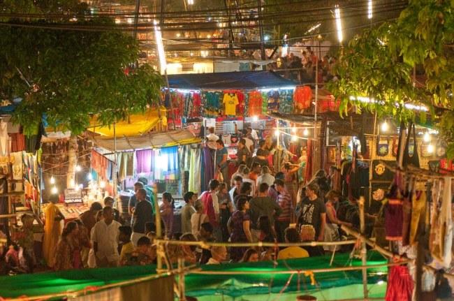 Ingo's Night Market Goa