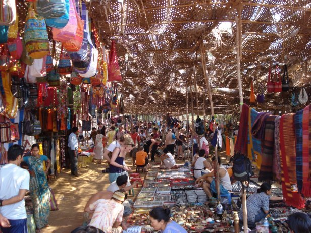Flea Market of Goa