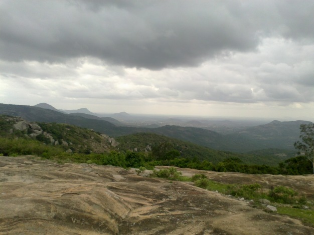 Panoramic view from Horsley Hills Tirupati