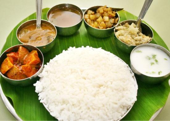 South Indian Thali Chennai