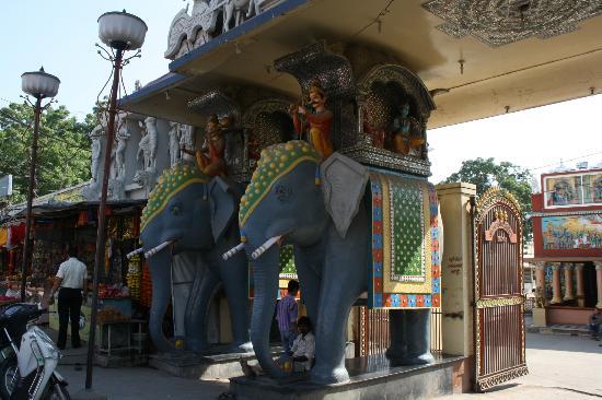 Entrance Annapurna Temple