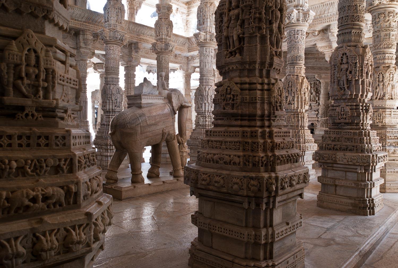 Ranakpur Jain Temple A Manmade Wonder Rugged Anay