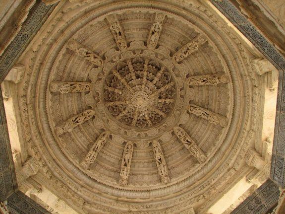 Megh Mandap in Ranakpur Jain Temple