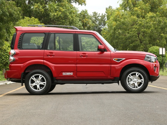 New Mahindra Scorpio Side