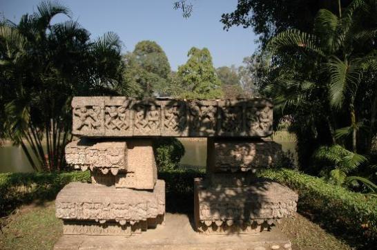 Stone Structure In Chitralekha Udyan
