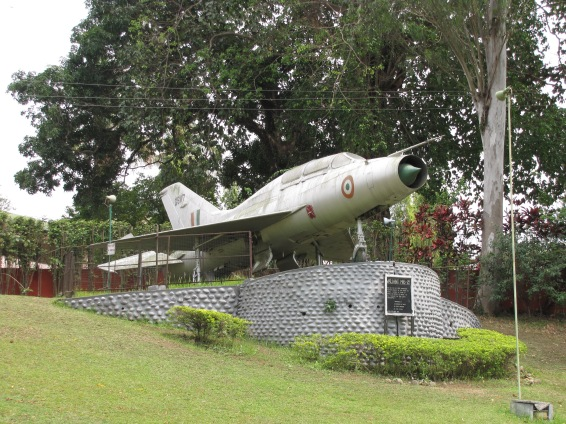 The Jet Fighter At Chitralekha Udyan Tezpur Assam